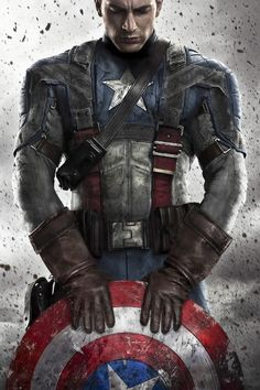 Captian America: the first avenger - Visit to grab an amazing super hero shirt now on sale!