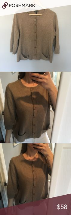 Eileen Fisher 100% cashmere sweater Such a cute sweater and absolutely extremely comfortable and soft. 100% cashmere Eileen Fisher Sweaters Cardigans