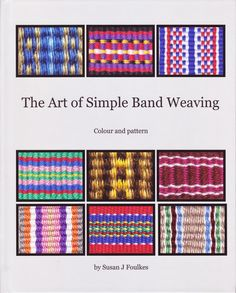 Weaving stripes: Plain weave warp faced bands    Plain weave warp faced bands are the easiest to weave. The colour order of the threads in...