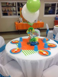 Baby Looney Tunes Baby Shower Party Ideas | Photo 4 of 8
