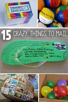 13 Things You Never Thought You Could Mail | Kids Activities Blog