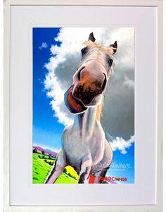 Eoin O' Connor - Irish Artist High Horse, Fine Art Prints, Canvas Prints, Irish Pottery, Irish Design, Irish Art, Nativity, Horses, How To Memorize Things