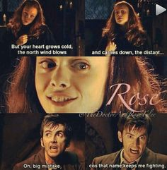 There are so many feels but also hope and joy that he didn't break down and rose is still in his heart