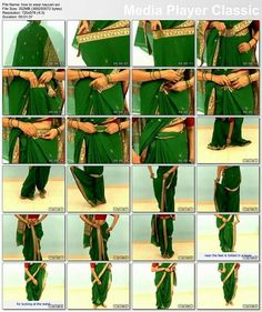 How to drape Maharashtrian Specially wore on wedding rituals n auspicious occasions. Saree Draping Styles, Drape Sarees, Saree Styles, Maharashtrian Saree, Marathi Saree, Indian Dresses, Indian Outfits, Indian Clothes, Kashta Saree