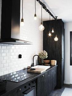 pendelleuchten und beleuchtung in der küche