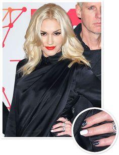 Gwen Stefani nails #beauty #nails