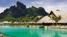 """Bora Bora was recently awarded the title of """"the best island in the world"""" byU.S. News & World Report."""