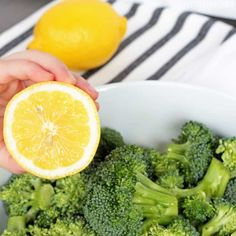 If you need a good steamed broccoli recipe, look no further, because this is the best broccoli seasoning ever! No worries, we have instructions for the best roasted broccoli too! Steamed Broccoli Recipes, Broccoli Lemon, Steamed Vegetables, Veggies, Eggplant Recipes, Vegetable Recipes, Vegan Vegetarian, The Best