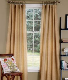 Full of texture in wheat from Country Curtains.