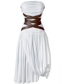 bondage dress spring fashion - this is so sexy!