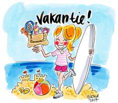 Vakantie! By Blond-Amsterdam