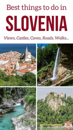The 35 best things to do in Slovenia (with photos) - Plan you trip with the best of Nature, attractions, cities. what to see in Slovenia to be blown away! Europe Travel Tips, European Travel, Travel Guide, Travel Hacks, City Trip Europe, Cool Places To Visit, Places To Travel, Amazing Destinations, Travel Destinations