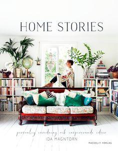 Nu är den här! Jag håller i mitt första ex av bokenHome stories - personlig inredning och inspirerande idéersom jag arbetat med hela förra året.Känns underbart roligt och spännande att...