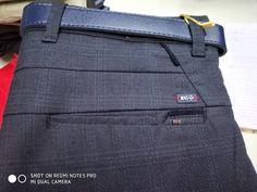 Sewing Pockets, Men Dress Up, Men Trousers, Denim Crafts, Designer Clothes For Men, Pants Pattern, Cotton Pants, Pocket Detail, Fashion Pants