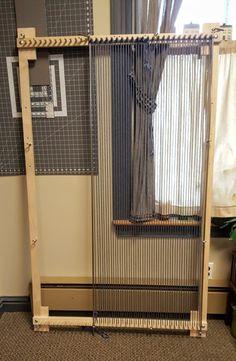 Loom Big Boy Adjustable Twining Loom With Leg Set Makes
