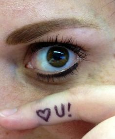 I love you -  Very creative, with a beautiful eye.