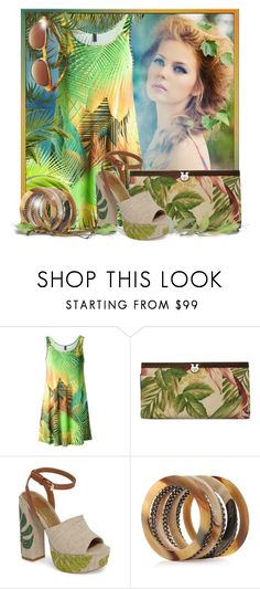 """Tropical Dreams"" by doozer ❤ liked on Polyvore featuring Lygia & Nanny, Patricia Nash, Dolce Vita and Laura B"