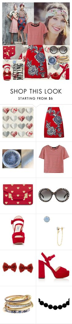 """""""So Mixed Up"""" by beleev ❤ liked on Polyvore featuring Thom Browne, Bill Blass, WithChic, Sophie Hulme, Prada, Gemma Crus, SPINELLI KILCOLLIN, Dorothy Perkins and vintage"""