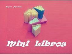 Origami - Papiroflexia. Libro en miniatura, muy fácil - YouTube