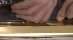 How to Install a Door Threshold