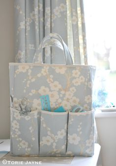 DIY: craft organizer tote bag