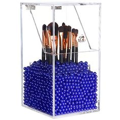 Preview Langforth Large Dust Free Clear Acrylic Makeup Organizer DIY Brushes Holder Case Storage Cosmetic Display Box... by Garenades