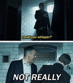"""(gif set) """"What if Greg was invited? And his little, 'You didn't even make it to closing time' jab was because he was supposed to meet them after he got off work and just as he was leaving they got hauled into the drunk tank?"""" 