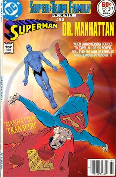 Super-Team Family: The Lost Issues!: Superman and Dr. Manhattan