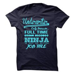 Underwriter - #diy gift #gift ideas. ORDER NOW => https://www.sunfrog.com/LifeStyle/Underwriter-56140386-Guys.html?68278