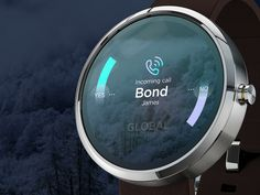 Global SMARTWatch™ // Incoming call by Jonathan Quintin