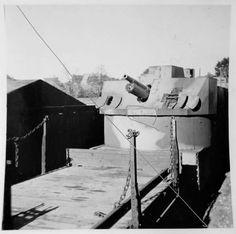 A Panzerzug using turret with a 37mm gun