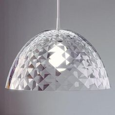 Koziol Stella M Hanging Lamp - Clear by Red Candy