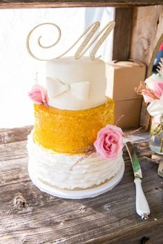 Casual Country Wedding with a Touch of Glamour by Haley J Photography - Melissa Hearts Weddings