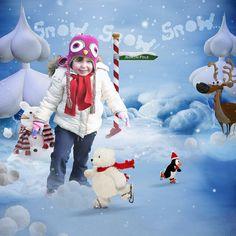 snow-snow-snow - Digishoptalk - The Hub of the Digital Scrapbooking Community