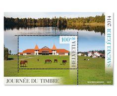 Tag der Briefmarke 2014 Saignelégier