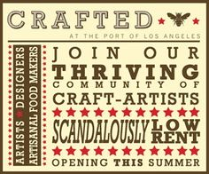 Imagine all of the fun and excitement of an arts and crafts festival. Now imagine it as a permanent showcase of vendors providing happy customers with 52 weekends a year of handmade happiness.   Housed in two charming World War II-era wooden warehouses you will find the best artist, designers, and artisanal food makers that the US of A has to offer!