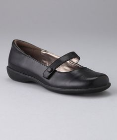 Take a look at this French Toast Black Ashley Mary Jane by School Day Struts: Kids' Shoes on #zulily today!