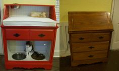 SO awesome! I need to do this. DIY cat bed, cat fortress