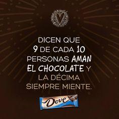 Dove Chocolate Mexico  - Todos somos amantes del chocolate.