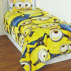 Despicable Me minions bedding