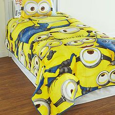 Despicable Me minions bedding