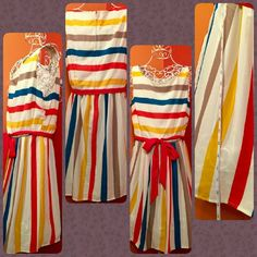 American Rag Striped Dress Like New condition wore once for family photos. Purchased from Macy's American Rag  Dresses Mini