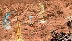 Mars Base Camp residents could explore the Red Planet virtually through avatars and other immersive technology, the concept's architects say.