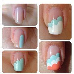 Simple Nail Art!!