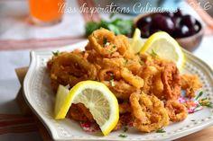 Calamars frits recette facile