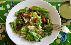 Ordinary Vegan's Rich & Creamy Caesar Salad