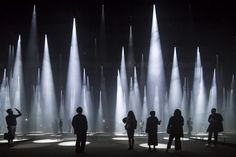 """Sou Fujimoto Installs a """"Forest of Light"""" for COS at 2016 Salone del Mobile"""
