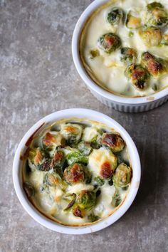 Brussel Sprouts are that classic veggie you either love or hate. I've grown to love them as an adult. If you are going to try any vegetable for the first time (or the first time as an adult) what better way to try it than smothered in a cheese sauce. Au gratin is the way...