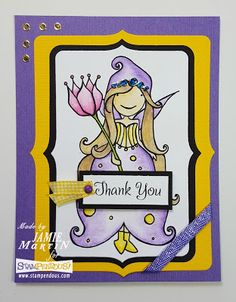 Stamp This!: Whisper Princess pink your life-stampendous!