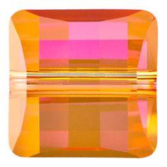 5624 10mm Crystal Astral Pink Swarovski Elements Crystal Stairway Bead